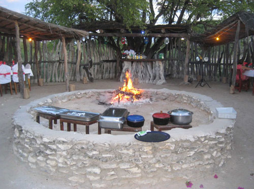 TUCSIN Tsumkwe Lodge: Boma festive Event, accommodation