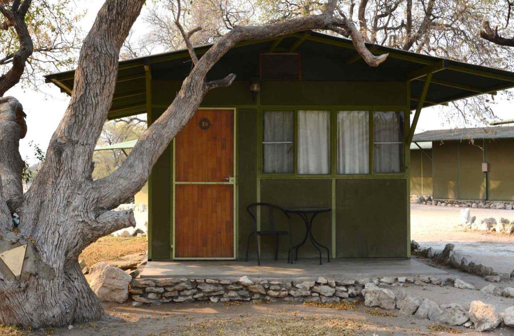 TUCSIN Tsumkwe Lodge - outside view of a cabin, accommodation