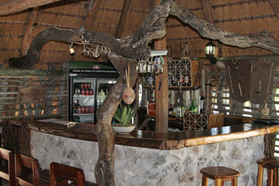 TUCSIN Tsumkwe Lodge and its new bar