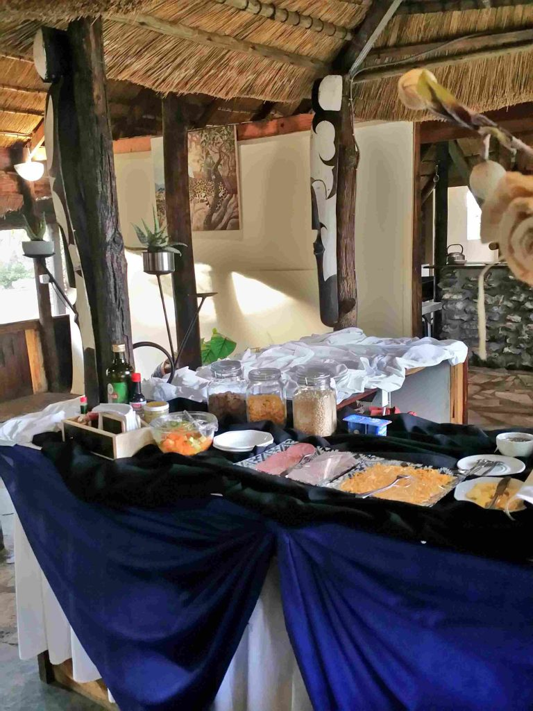 TUCSIN Tsumkwe Lodge - Breakfast Buffet
