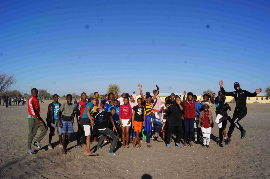 MALTAS Club visit to Tsumkwe